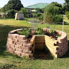 Backyard Raised Garden Ideas Keyhole Garden Design Raised Bed Gardening Ideas