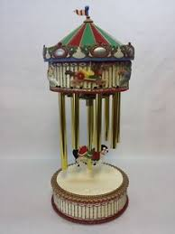 avon carousel box chimes several carols