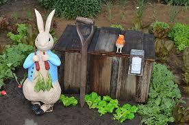 rabbit garden rabbit garden figurine riversdale estate flickr