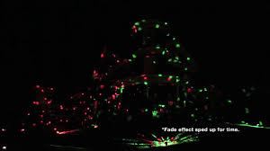 holiday party multi color outdoor projected light youtube