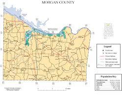 Alabama City Map Morgan County Alabama History Adah