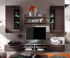 wohnwand mit beleuchtung wohnwand dunkelbraun gut auf wohnzimmer ideen in unternehmen mit