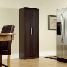 Metal Storage Cabinet Kitchen White Storage Cupboard Corner Pantry Cabinet Metal