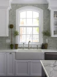 Kitchen Backdrop Pictures Of Kitchen Backsplash Ideas From Green Subway Tile