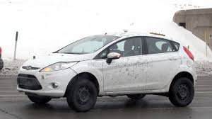 suv ford ford fiesta based suv mule prototype spied