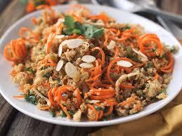 kosher for passover quinoa morroccan quinoa and carrot salad passover potluck recipe