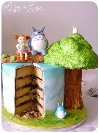 decoration cupcake anniversaire gâteau d u0027anniversaire totoro au pays de candice