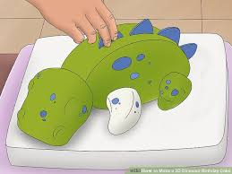 dinosaur cakes how to make a 3d dinosaur birthday cake 15 steps with pictures