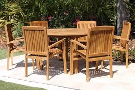 Teak Dining Chairs For Sale Sale 56in Round Table U0026 6 Pacific Chair Teak Set Oceanic Teak