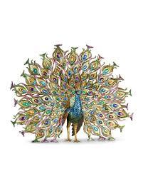 peacock fan strongwater stanton fan peacock figurine