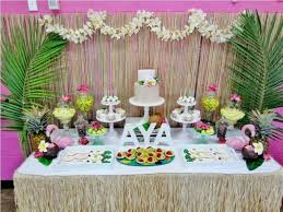 luau table centerpieces luau theme for table centerpiece ideas decorating of party