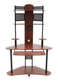 Black Corner Computer Desk With Hutch by Amazon Com Arch Tower Cherry Black Arts Crafts U0026 Sewing