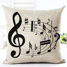 online buy wholesale music notes pillow from china music notes