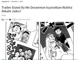 film doraemon episode terakhir stand by me trailer stand by me doraemon indonesia subtitle oaes supports