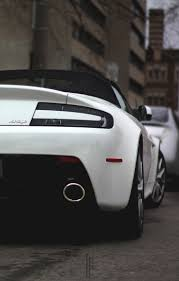 aston martin back mobile hd wallpapers aston martin vantage white back cabriolet