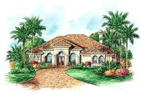 Florida House by Mediterranean Home Plans Florida Plan Design Siena 9538