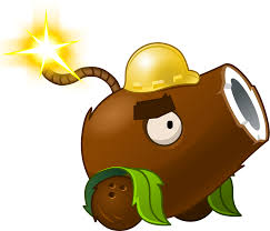 halloween png images image coconut cannon halloween png plants vs zombies wiki