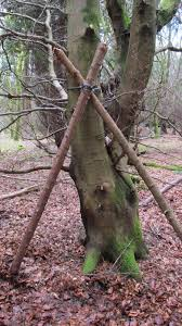 A Frame Bed Buzzard Bushcraft A Frame Shelter Raised Bed