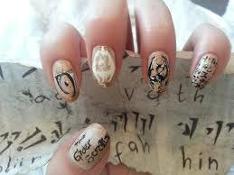 skyrim the elder scrolls mani nail art pinterest makeup