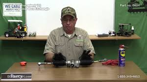club car precedent steering box how to replace on golf cart