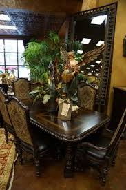 tuscan decorating ideas tuscan marquetry dining table and dining