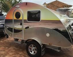 offroad travel trailers trackstar offroad teardrop retro van u2013 trackstar