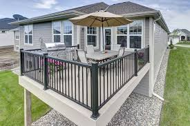 Banister Lake Quality Pvc Railing Decking And Accessory Products Phoenix