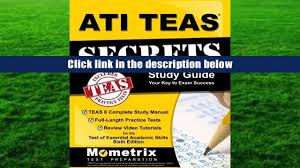 audiobook ati teas secrets study guide teas 6 complete study