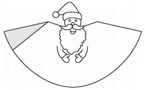 christmas paper template letter to santa claus paper blank