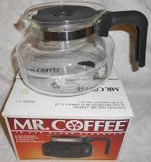 amazon com mr coffee 10 cup glass decanter carafe model d 7