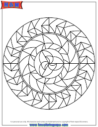 printable mandala designs kids coloring