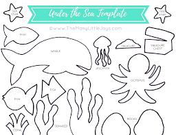 sea creature templates wallpaper download cucumberpress com