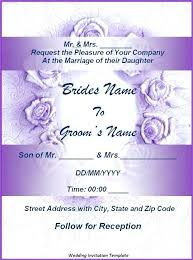 wedding invitations layout wedding invitation sles free templates simplo co