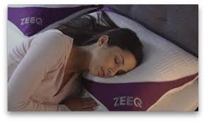 Most Comfortable Pillow In The World Zeeq Smart Pillow Stream Music Stop Snoring Sleep Smarter By