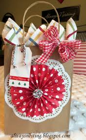 inexpensive hostess gift envolver pinterest bolsas decoradas
