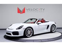 porsche convertible 2016 porsche boxster spyder for sale in nashville tn stock