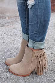 Brown Fringe Ankle Boots Best 20 Fringe Boots Ideas On Pinterest Fringe Boots