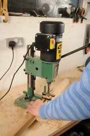 Bench Mortise Machine Kity Mb16 Bench Top Mortiser Woodworking Crafts Magazine