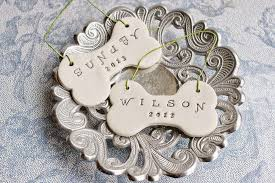 clay bone ornaments diy gift craftivity designs