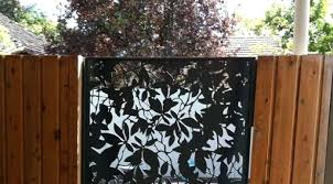 fence panels decorative metal decorative metal fence panels metal