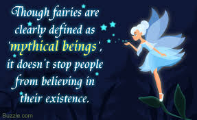 a dash of pixie dust are fairies real or mythical creatures