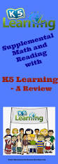 supplemental math and reading with k5 learning a review
