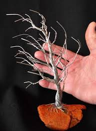 72 best twisted wire trees images on wire trees