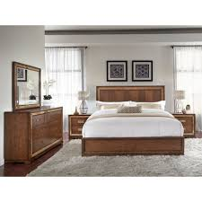 chrystelle wood panel bed in cognac humble abode chrystelle bedroom collection