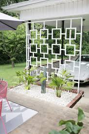 9 simple and modern trellis designs for your garden modern patio