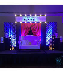 wedding backdrop manila themed setup