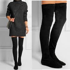 womens flat boots size 12 gallery for flat thigh high boots for plus size size 12