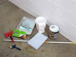 Removing Paint From Concrete Steps by How To Stain Concrete Hgtv