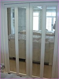 Solid Bifold Closet Doors Mirrored Closet Bifold Doors Roselawnlutheran
