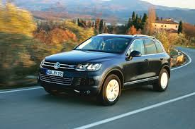volkswagen touareg blue vw introduces think blue umbrella with touareg hybrid launch